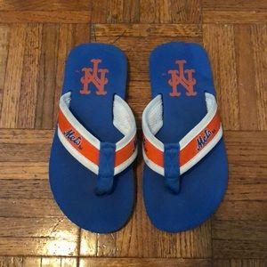 Shoes - New York Mets Flip Flops